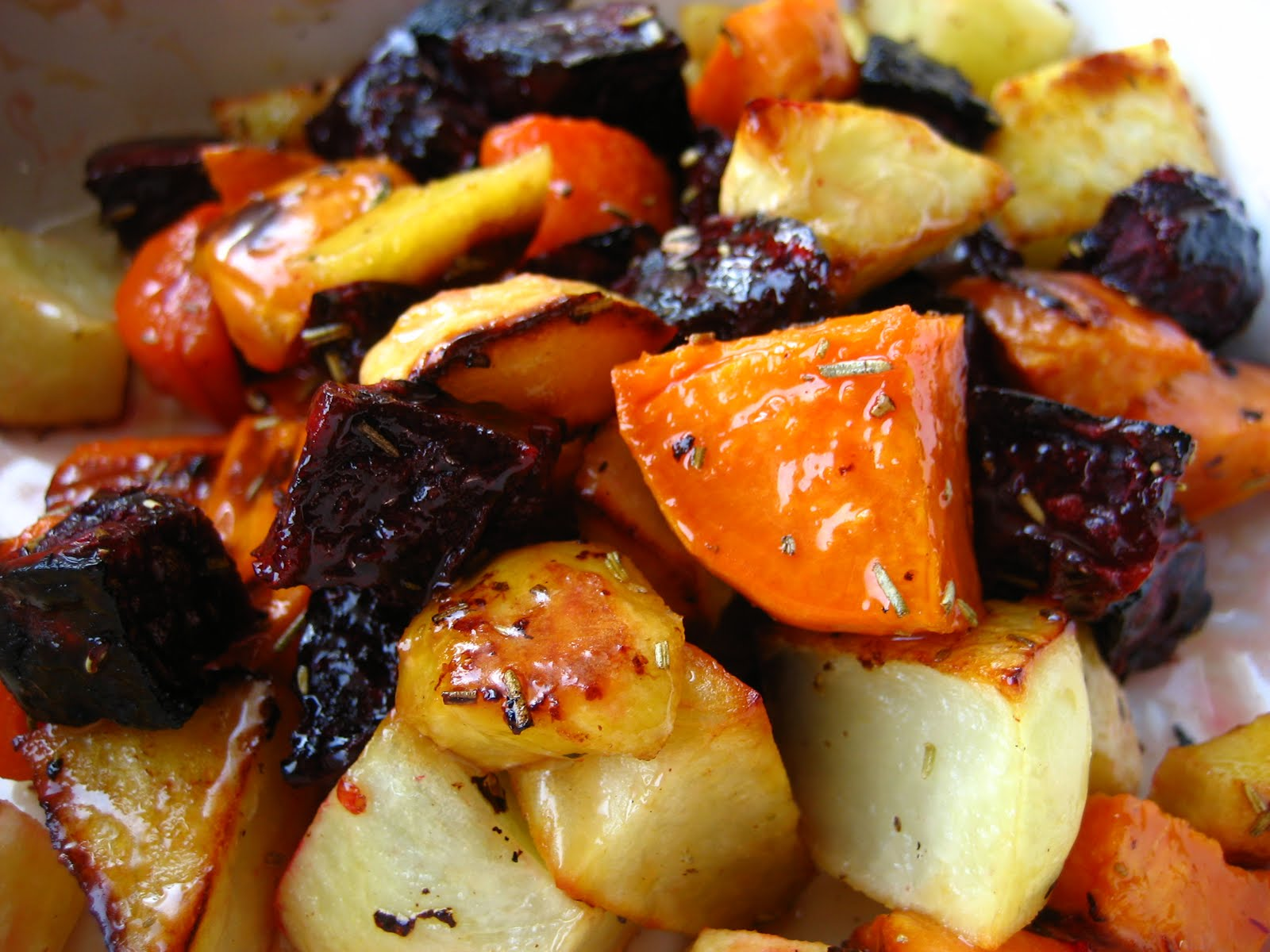 ... Cooking In Montana: Roasted Root Vegetables with Orange Maple Glaze
