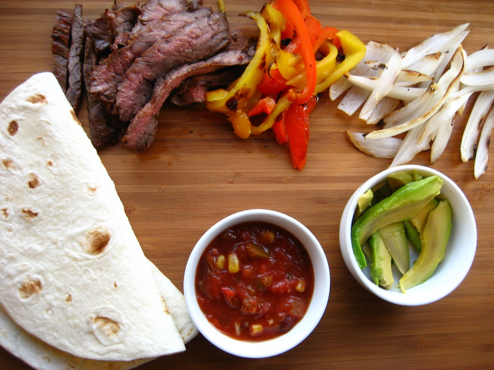 Home Cooking In Montana: Grilled Beef Fajitas