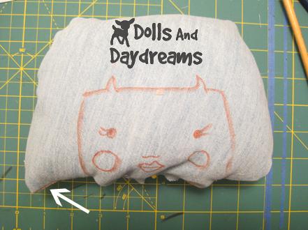 Rag Doll Making: Part 1 - Pattern - Printing - Drawing - YouTube