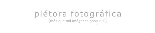 plétora fotográfica
