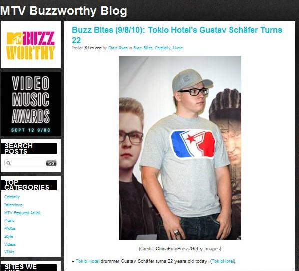 MTV Buzzworthy recuerda el cumpleaños de Gus! Buzzwo