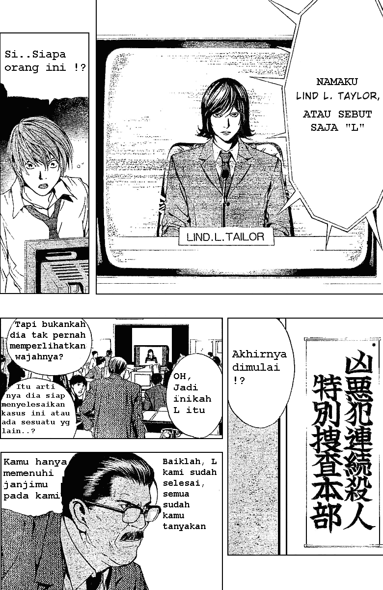Baca Manga, Baca Komik, Death Note Chapter 2, Death Note 2 Bahasa Indonesia, Death Note 2 Online, Death Note 2 Indo