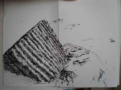 Sea Defenses at Alnmouth
