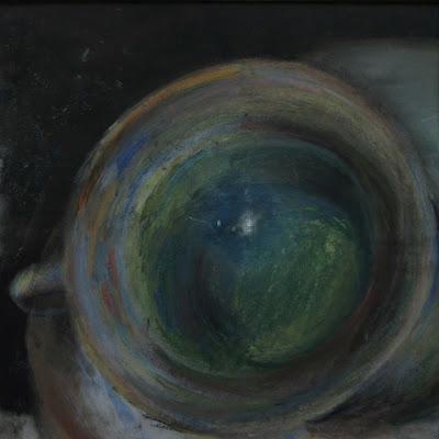 cup, chalk pastel 1991