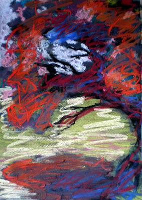 pastel on ingres paper