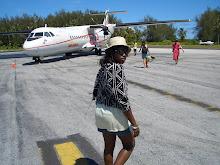 A transit flight