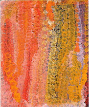 "Emily Kame Kngwarreye ""Untitled"" 1995"