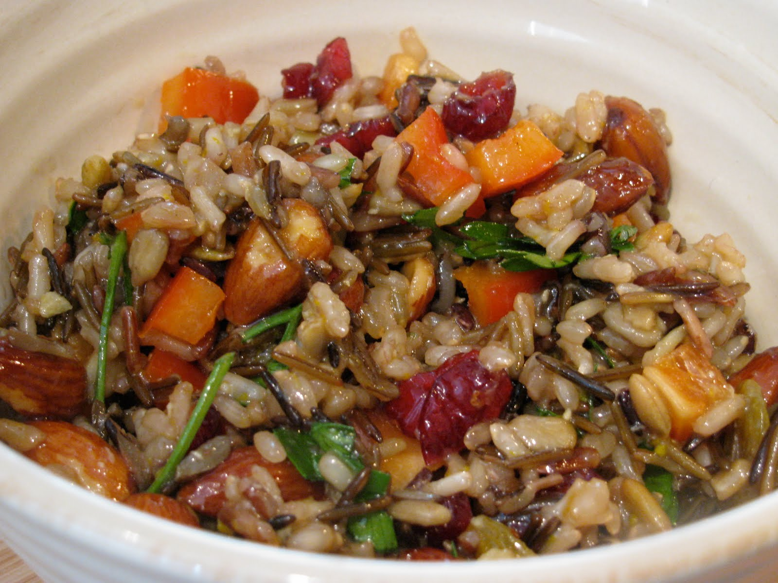 PB and Graham: Wild and Brown Rice Salad with Citrus Dressing