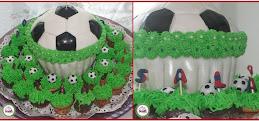 Soccer Theme Platter