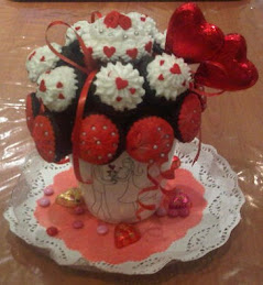 Edible Cupcake Arrangement
