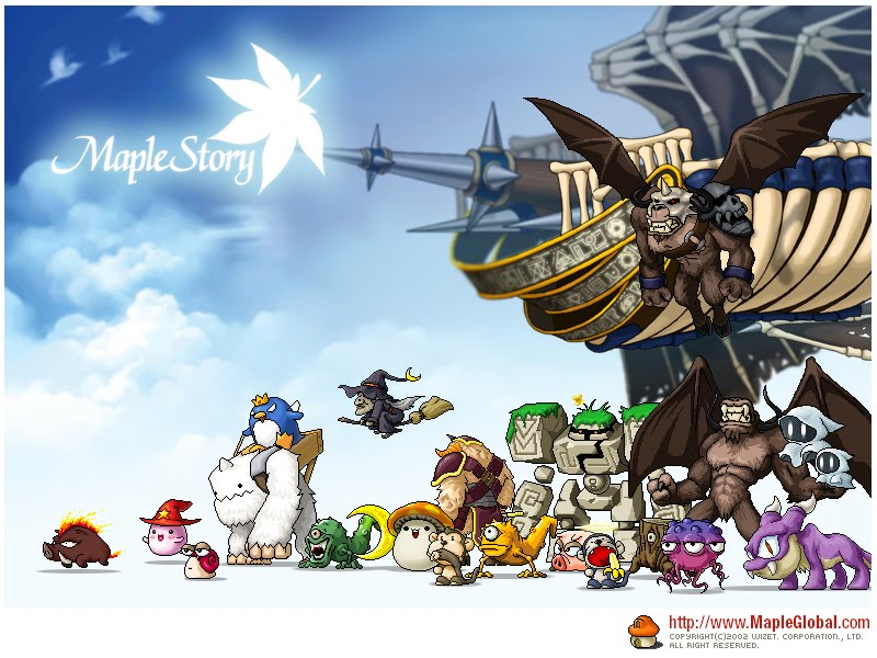 maplestory wallpaper. maplestory wallpaper.