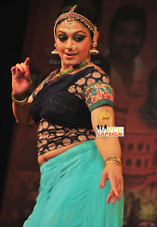 SHOBANA Hot Navel show in her new dance program