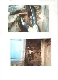 59 metros de tuberias y canalizacion