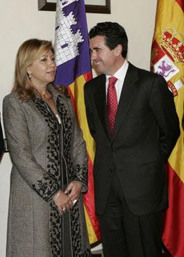 Matas y Munar, cuando co-gobernaban Baleares