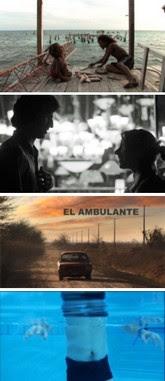 (arriba a abajo) Alamar, Bummer Summer, El ambulante, La quemadura