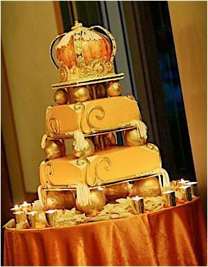 Ratuku creations arabian night wedding cake for Arabian cake decoration