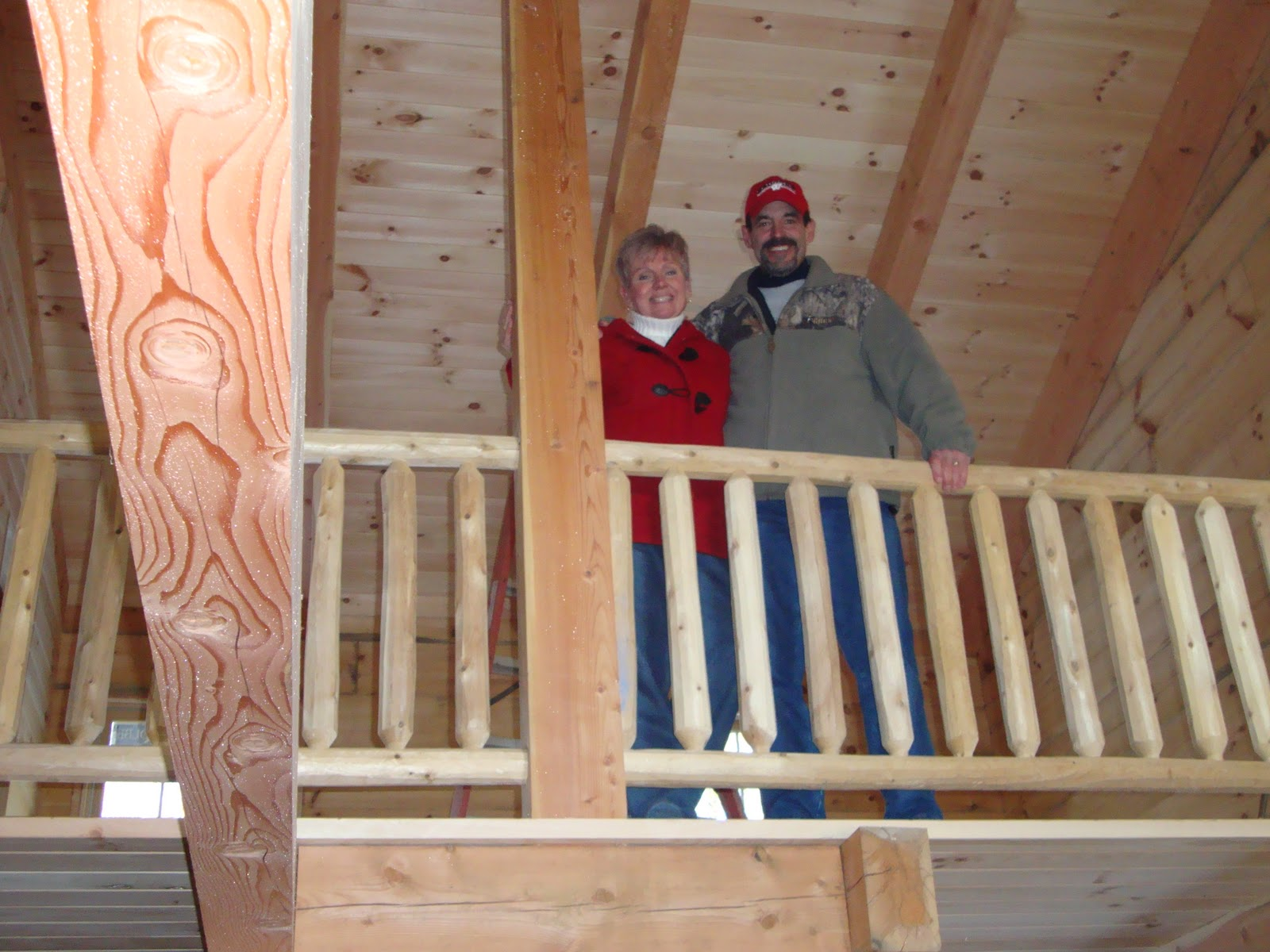 Patriot log home builders amish milled log homes for Amish home construction