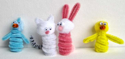 animalitos faciles Easter-finger-puppets