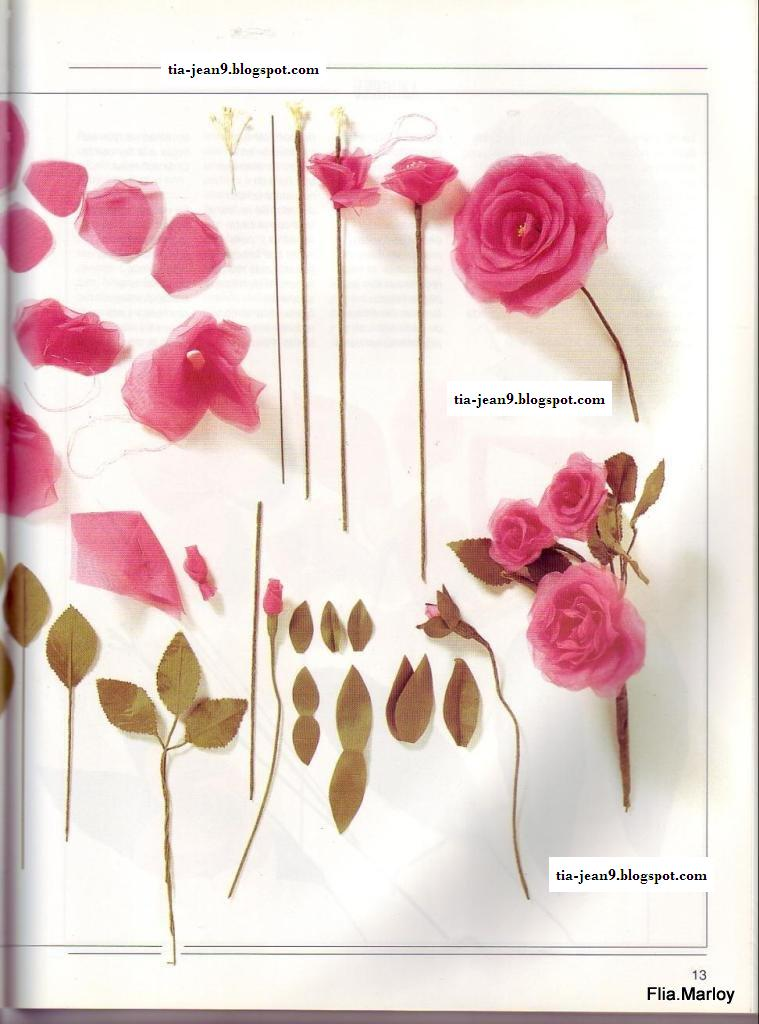 Como hacer flores en tela paso a paso imagui - Hacer bolsos de tela paso a paso ...