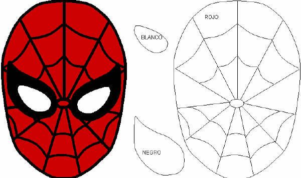 Hice mi propia mascara de spiderman.. y te lo muestro - Taringa!
