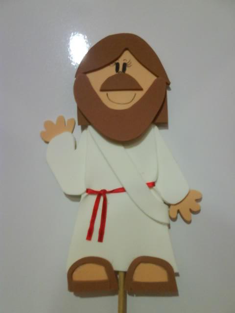 PASO A PASO CON JEANNINE: MOLDES JESUS FOFUCHO PLANO