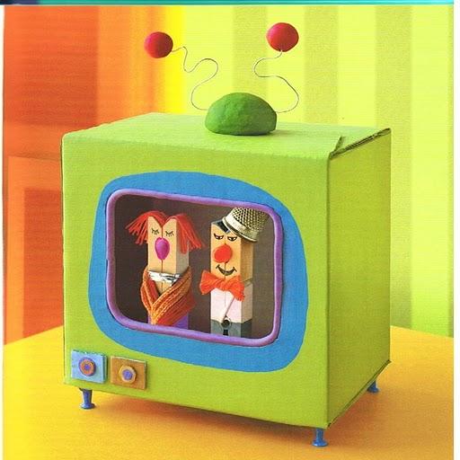 Como Hacer Una Television Con Material Reciclable | apexwallpapers.com ...