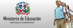 secretaria de estado de educacion dominicana: