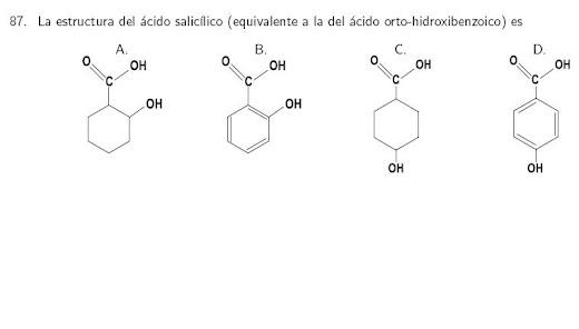 Ácido Salicilico Estructura de Lewis