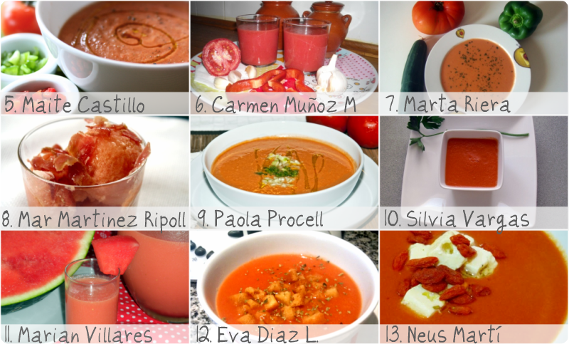 Fotos del 6º RETO: Gazpacho con Santa Teresa - VelocidadCuchara.com