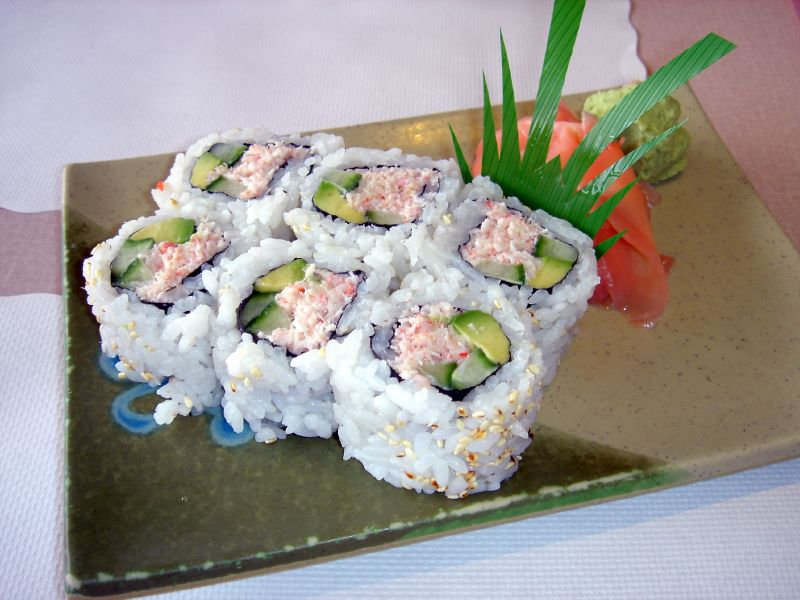 California Roll Recipes — Dishmaps