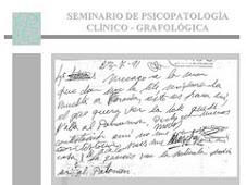 SEMINARIO DE GRAFOPATOLOGÍA