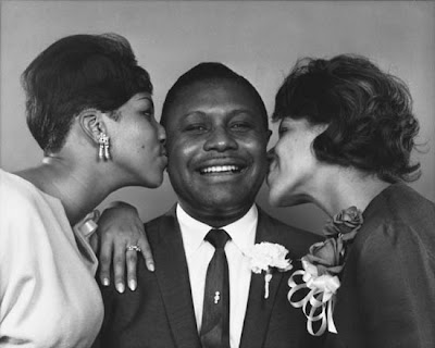 Rev CL Franklin, Aretha Franklin and Sister Carolyn Franklin
