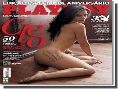 download Playboy Cleo Pires - Divulgação
