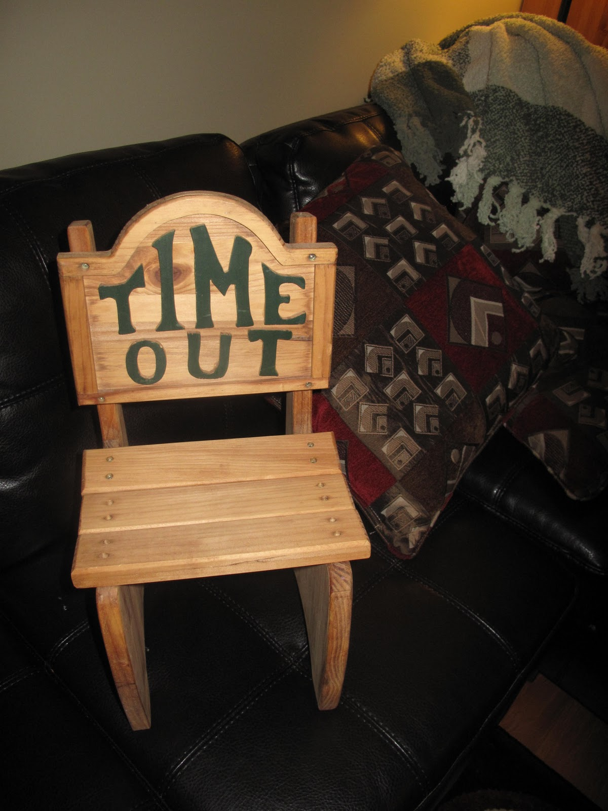 Blog Sale Wooden Time Out Chair