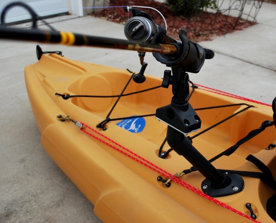Palmetto Kayak Fishing DIY Scotty Flush Mount Adapter