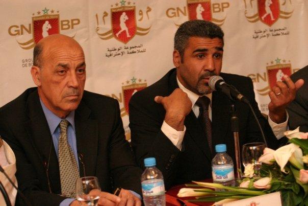 في مجلس توقيف الملاكم الملك إدريس عن للعب بطولة  العالم 2010