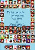 Prémio Concurso Avatares de Natal 2008
