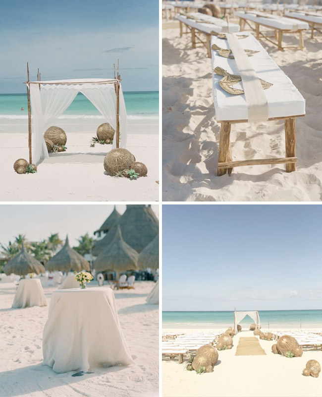 cool beach wedding ideas