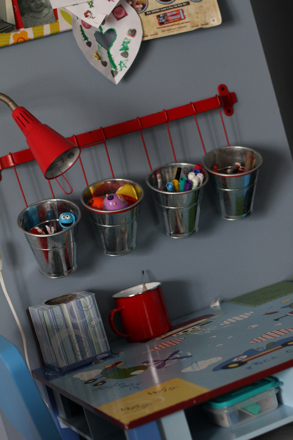 Organizing Kiddos Coloring Table - Scissors & Spatulas