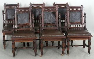Set Of Eastlake Chairs