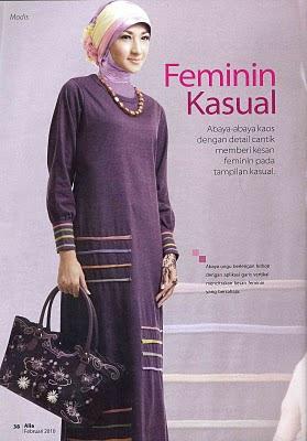 ninols, busana muslim kaos, gamis kaos, blus kaos celan