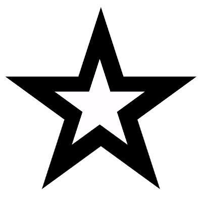 Татуировка пятиугольная звезда