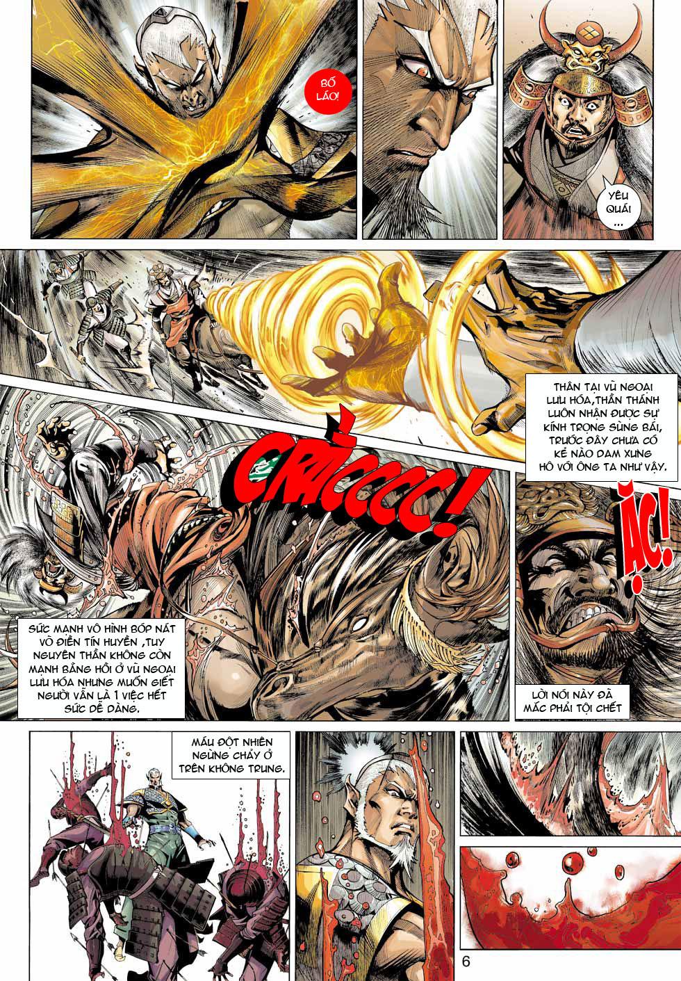 Thần Binh 4 chap 12 - Trang 7