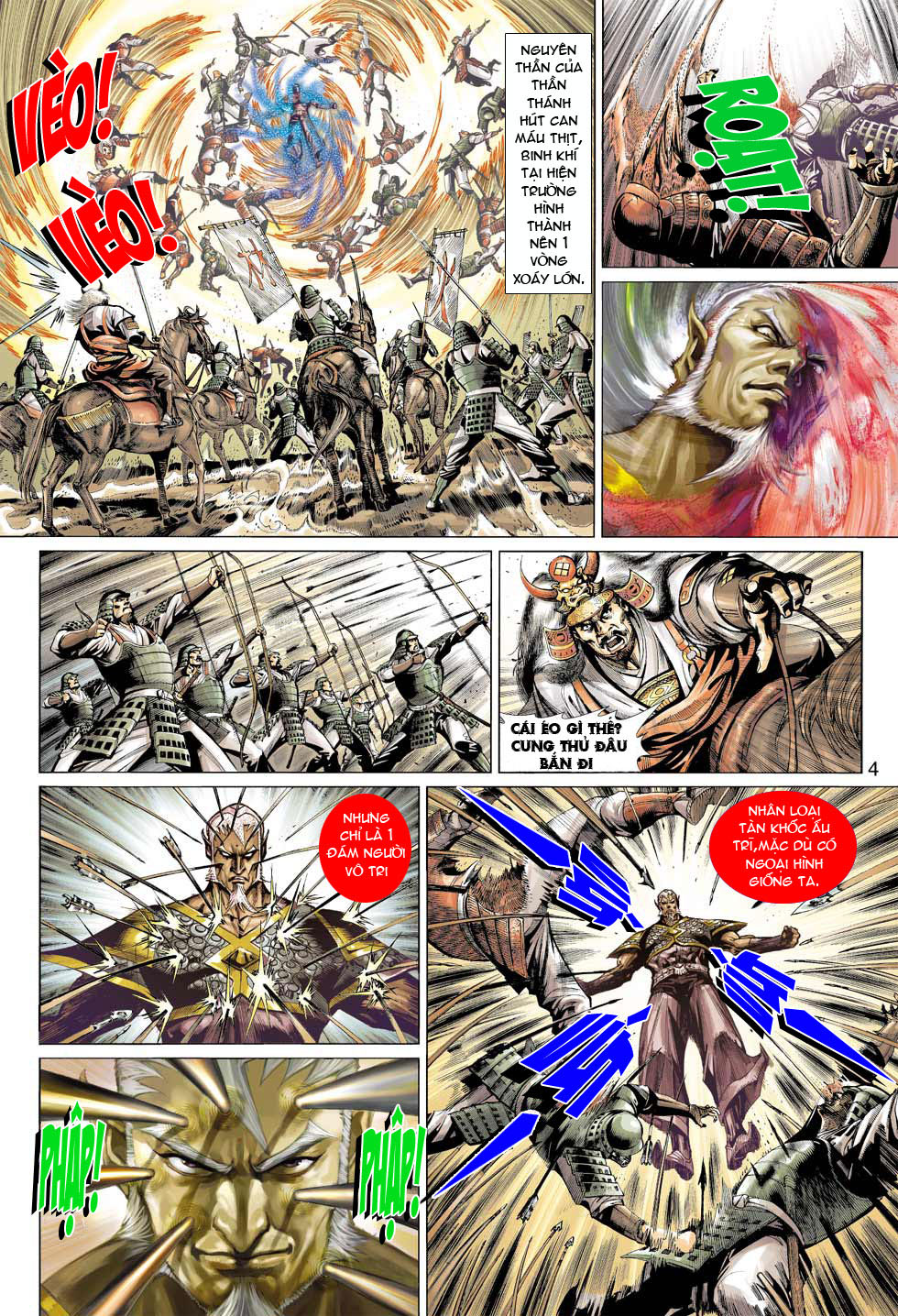 Thần Binh 4 chap 12 - Trang 5