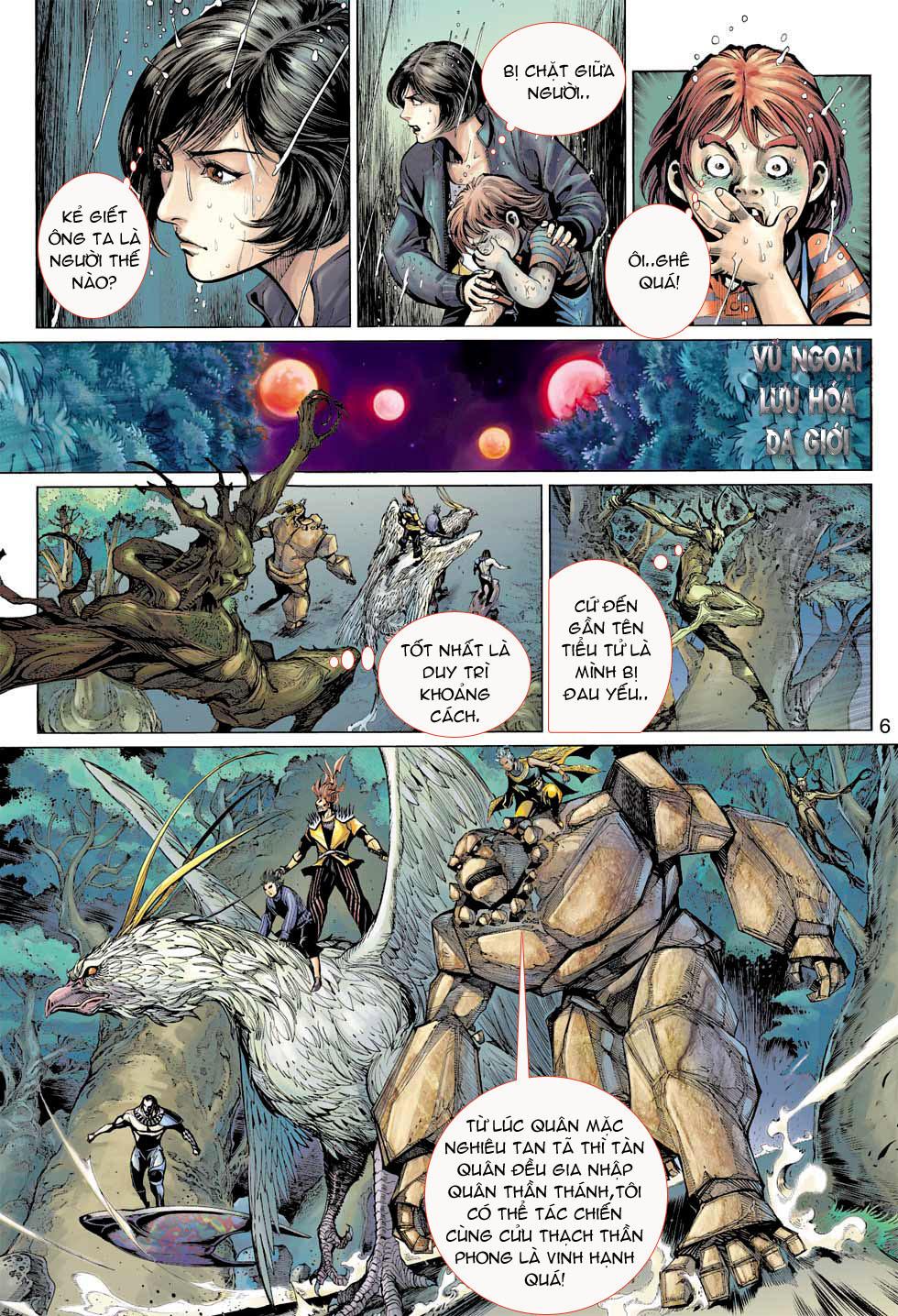 Thần Binh 4 chap 8 - Trang 6
