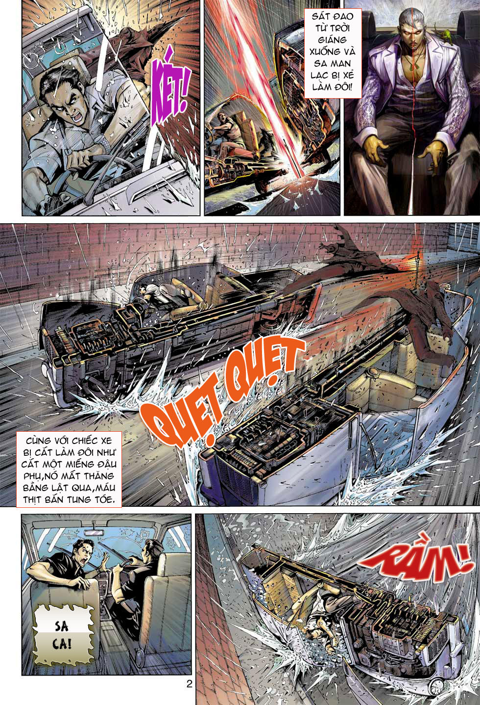 Thần Binh 4 chap 8 - Trang 2