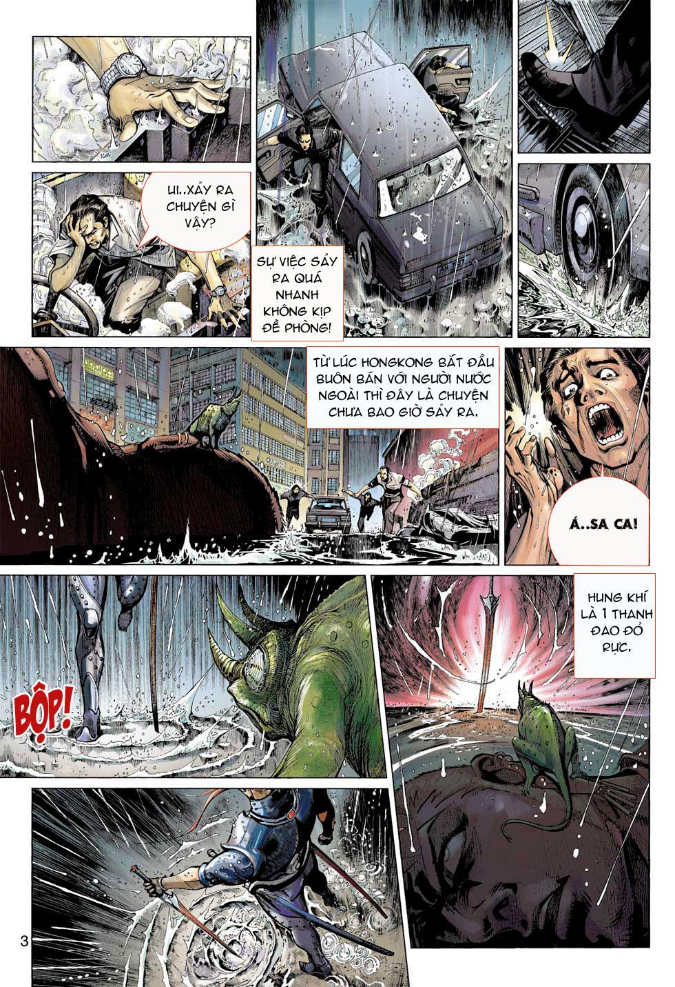 Thần Binh 4 chap 8 - Trang 3
