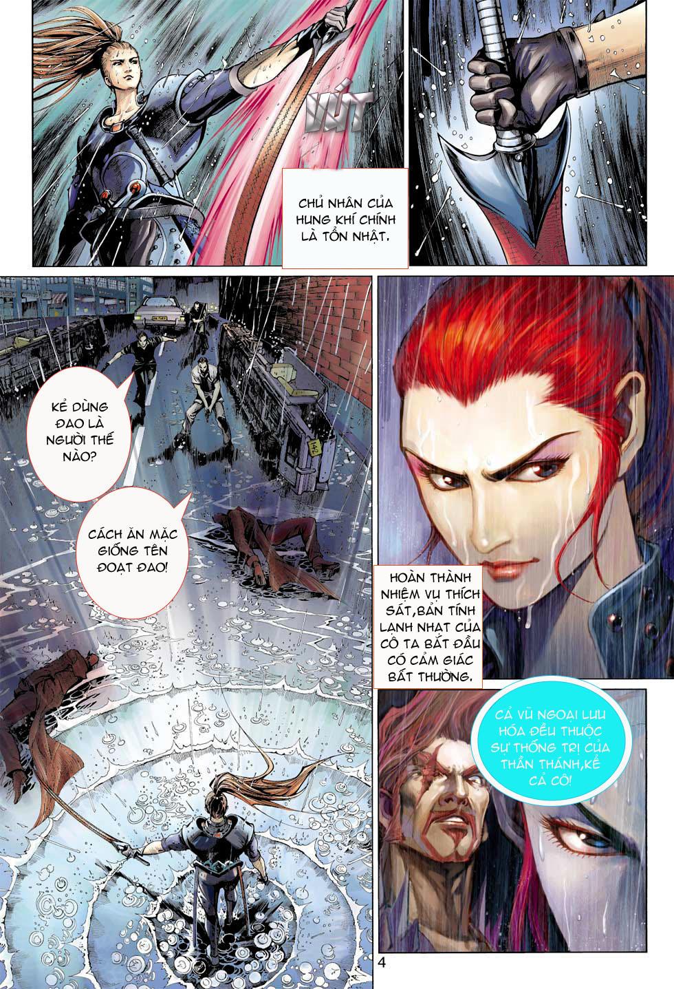 Thần Binh 4 chap 8 - Trang 4