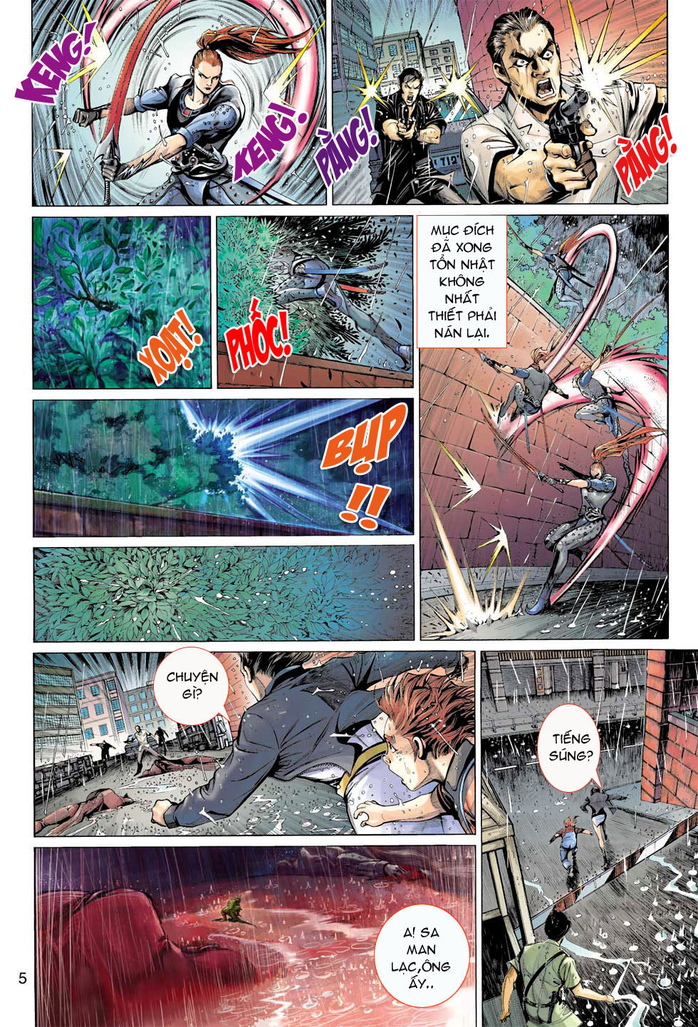Thần Binh 4 chap 8 - Trang 5