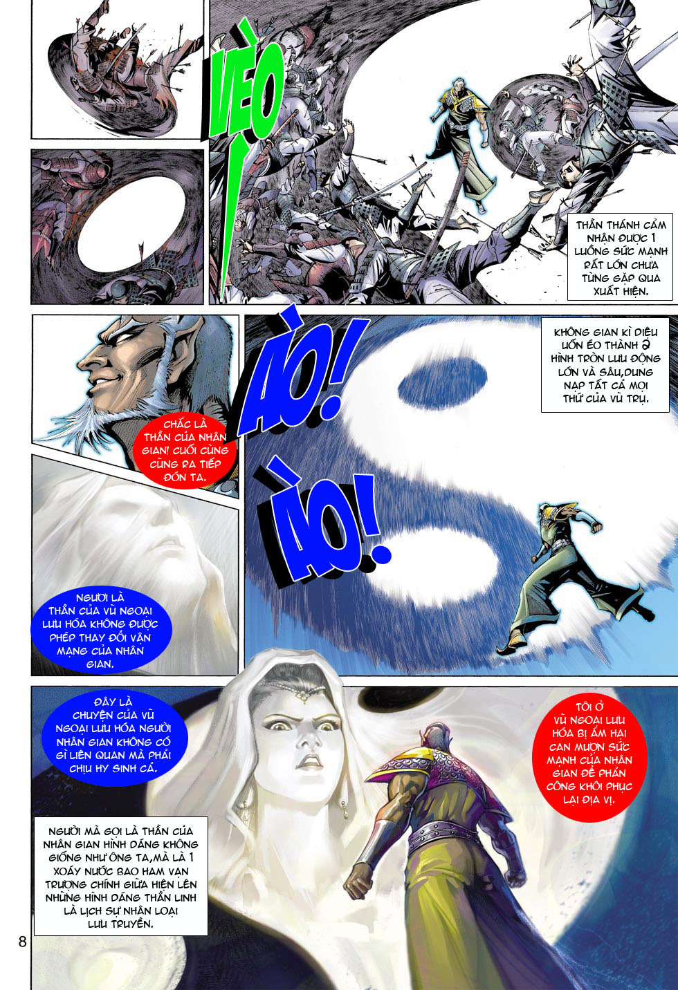 Thần Binh 4 chap 12 - Trang 9